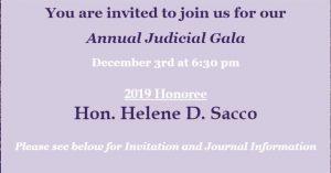 SIWBA Annual Judicial Gala 2019 @ Hilton Garden Inn